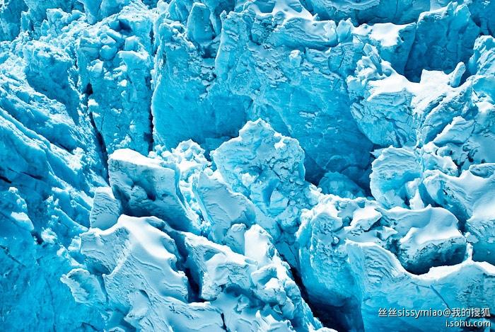 紐西蘭靠近南極的冰川