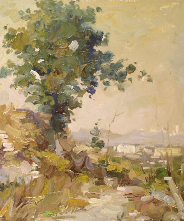 2008油畫風景寫生