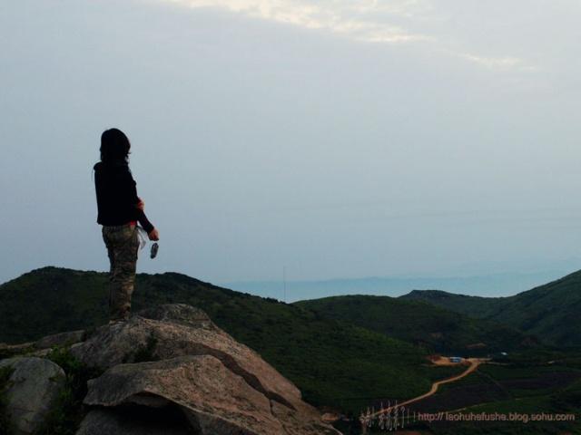 清晨的阳光带来了无限风光 俞山岛有着它独特的美 除了心旷神怡.