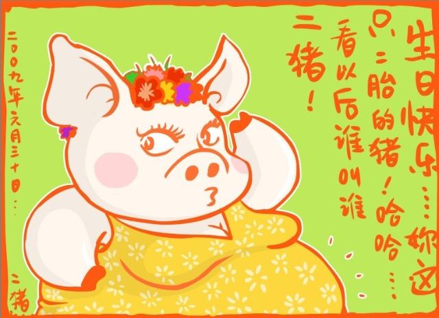 生日快乐.二猪!