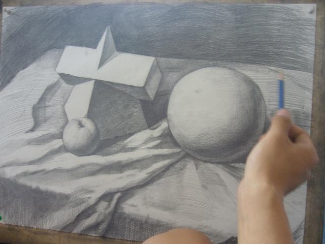 黑白线描画范画图片大全 了解线描画中的黑白对比知识