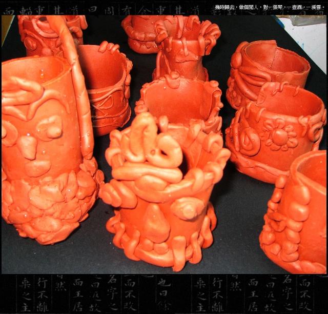 泥塑花瓶作品_儿童泥塑作品-染天池少儿美术书法学校-搜狐博客