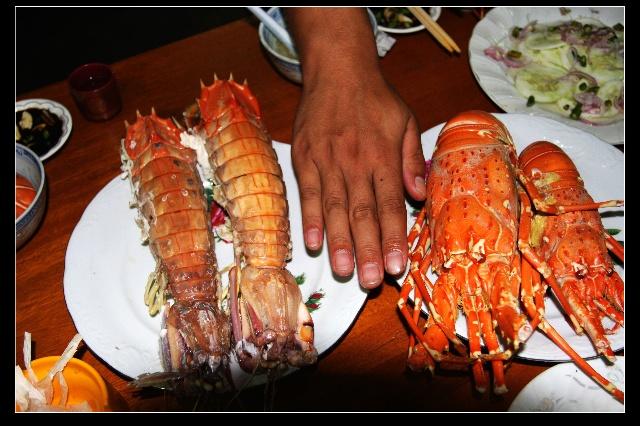 穿行缅甸—皎瞟岛上吃海鲜