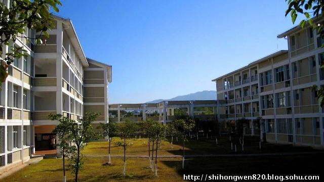 武夷学院美丽的校园风光