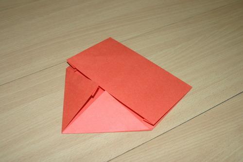 a4纸折信封图解