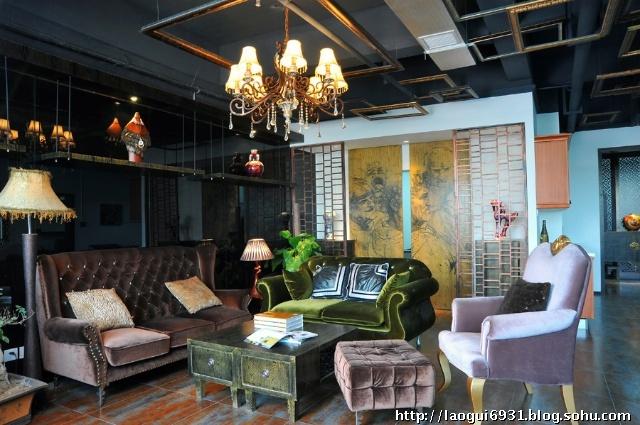 loft风格办公空间设计