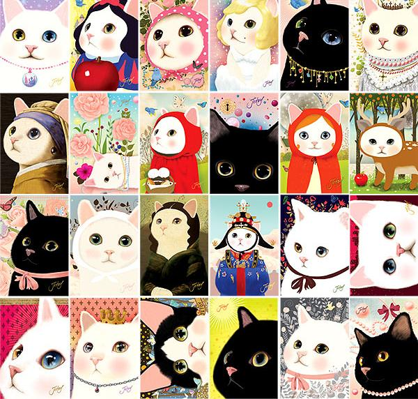 jetoy~~韩国可爱猫猫 头像