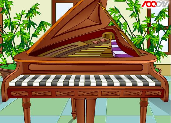 童话钢琴数字谱子