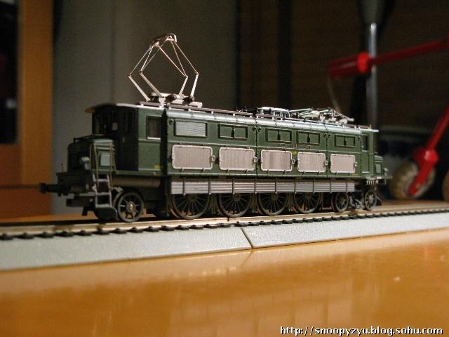 电力机车 带动力模型