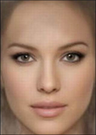 揭秘世界上最美脸蛋 众女星均败下阵来图片