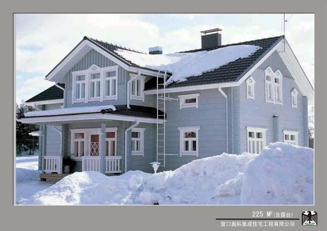 目前在中国建成的木结构住宅主要应用轻型木结构.