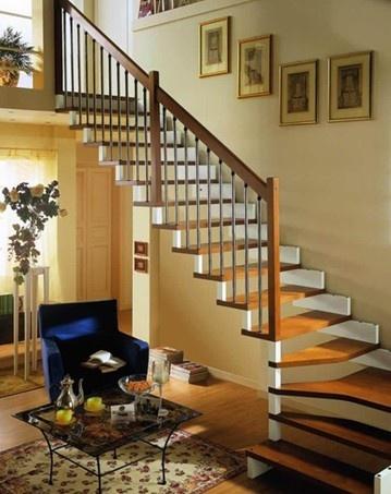 复式楼精美装修 楼梯选择可多样性图片