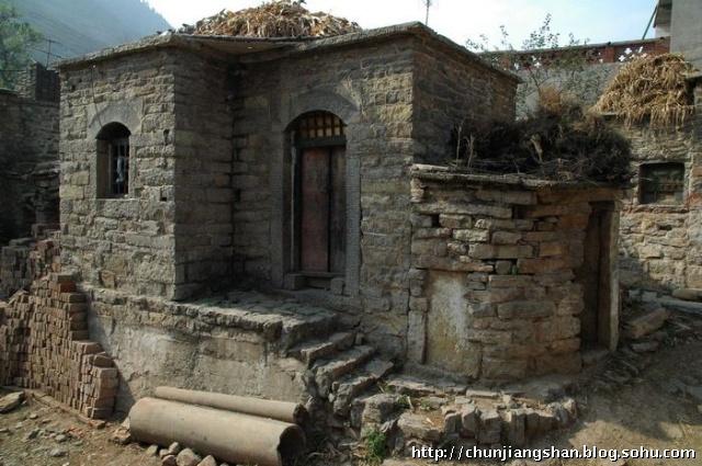 渐渐逝去的风景----寻访涉县石头村-春江画山水