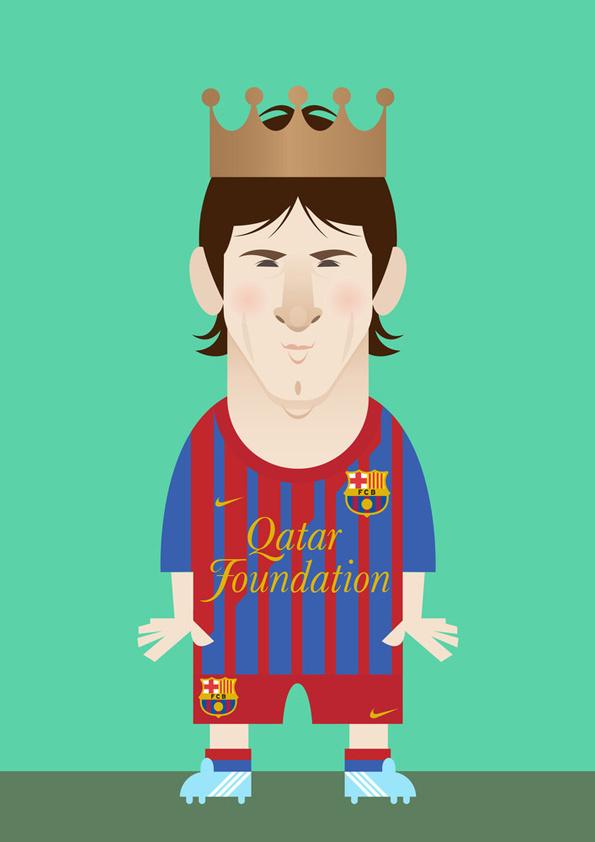 漫画版足球明星,你认出几个?