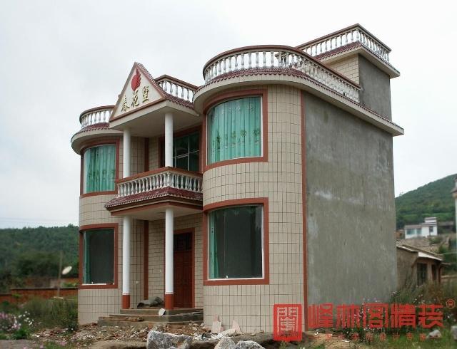 农村二层小洋楼设计-幸亏找到峰林阁,避开 青龙煞