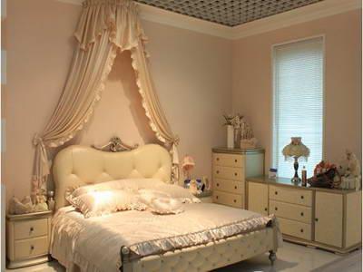 欧式情侣浪漫卧室图片