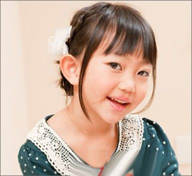 儿童时尚可爱发型设计