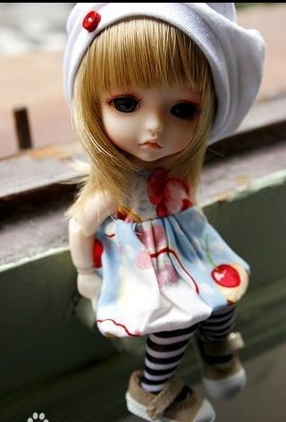 sd娃娃的忧伤 可爱么?