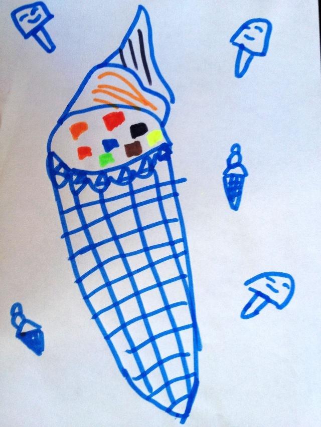 可爱糖果屋简笔画图片大全
